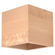 Up & Down Wandleuchte Quad Holz