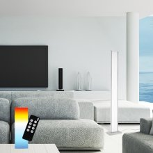 LED Stehleuchte Q®-Rosa, Smart Home Farbwechsel